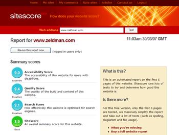 Sitescore
